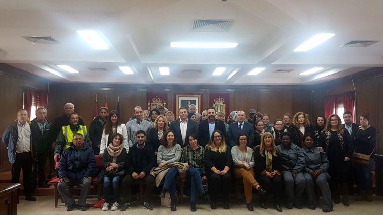 La Diputación de Guadalajara aporta medio millón de euros para la contratación de 190 personas en Azuqueca de Henares a través del Plan de Empleo