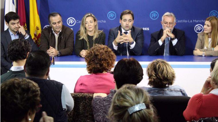 Núñez destaca la nueva estrategia del PP de CLM a través de los Foros de Participación Social para que los afiliados construyan el discurso del partido