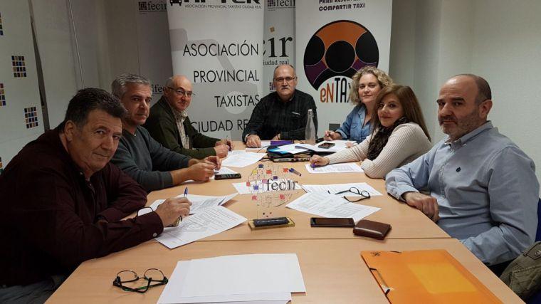 La Asociación Provincial de Taxistas de Ciudad Real hace balance de un 2018 con importantes novedades en el sector