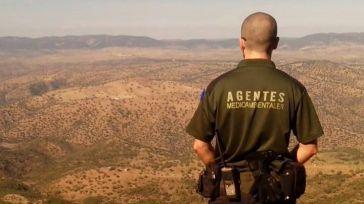Agentes medioambientales rescatan a un vecino de 60 años perdido en el monte
