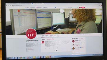 El 1-1-2 de Castilla-La Mancha empieza su andadura en Twitter