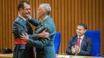 El delegado del Gobierno preside el acto de imposición del fajín de General de Brigada al general Luis Francisco Rodríguez