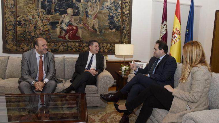 El encuentro entre Page y Núñez deja una foto de distensión en un momento de una elevada crispación política