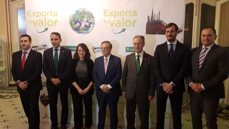 El presidente de Globalcaja destaca en el Foro Exporta Tu Valor la importancia de la internacionalización como estrategia empresarial