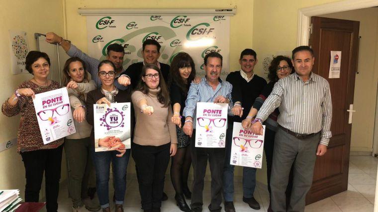 CSIF conciencia sobre las consecuencias laborales de la violencia de género