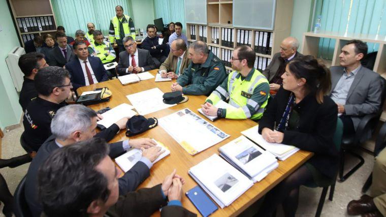 Los delegados del Gobierno en Castilla-La Mancha y en la Comunitat Valenciana celebran la primera reunión intercomunitaria de vialidad invernal