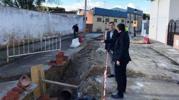Seseña pone en marcha una nueva fase de las obras de renovación de la red de agua