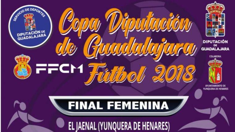 Yunquera acogerá este jueves la final de la Copa Diputación de Guadalajara de Fútbol