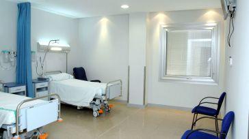 Habitación del Hospital Nuestra Señora del Prado de Talavera de la Reina.