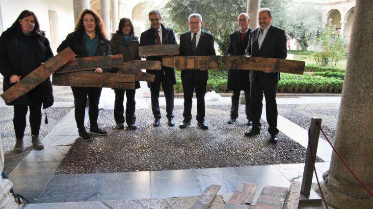 Halladas en Toledo unas tablas policromadas de finales del XV