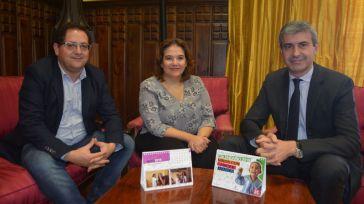 La Diputación de Toledo colabora con AFANION editando mil ejemplares de su calendario solidario para 2019