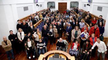 """Fernández Vaquero: """"Este año ha sido muy especial para la discapacidad"""""""