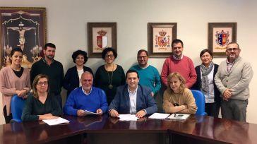 Día histórico para el Ayuntamiento Campo de Criptana tras hacer efectiva, diecisiete años después, la firma del Convenio Colectivo