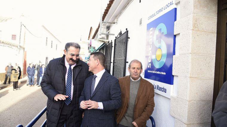 El presidente García-Page junto al consejero de Sanidad, en una foto de archivo.