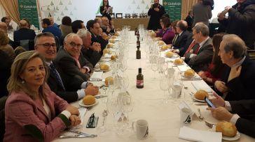 Globalcaja acompaña a Asaja en su tradicional encuentro navideño en Ciudad Real