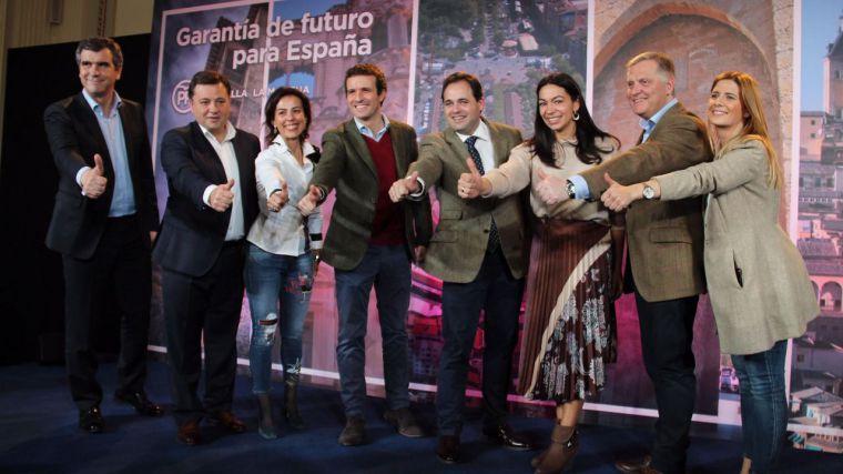 """Paco Núñez está convencido de la """"extraordinaria valía"""" de los cinco candidatos 'con los que el PP ganará las Alcaldías de las capitales de la región'"""
