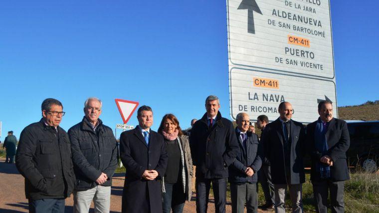 La Diputación de Toledo invierte un total de 34 millones en las carreteras de la provincia durante la legislatura