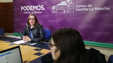 Podemos-CLM advierte al Gobierno de Sánchez que no dará un paso atrás en relación a la Ley por una Sociedad Libre de Violencia de Género