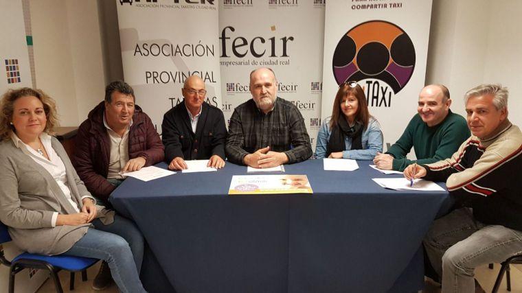 La Asociación de Taxistas de Ciudad Real concede los premios Quijotaxi