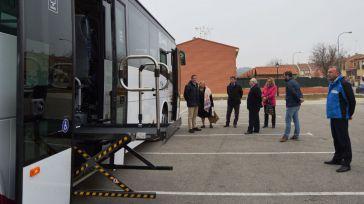 Seseña estrena vehículo para la línea de autobús urbano