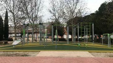 Seseña Nuevo estrena un nuevo parque de Calistenia