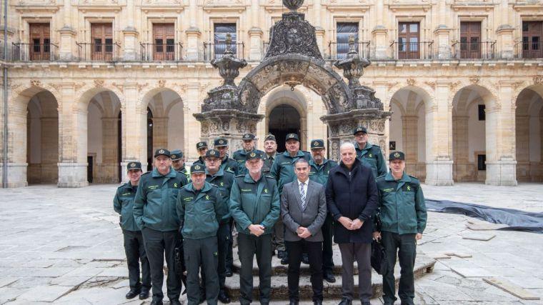 González Ramos preside la Junta de Coordinación de Zona de Guardia Civil en Uclés