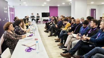Consejo Ciudadano Estatal de Podemos, celebrado el pasado miércoles.