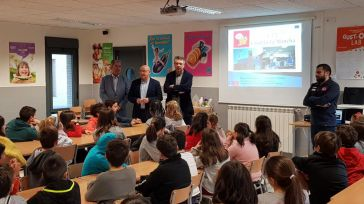 El Servicio de Emergencias 1-1-2 comienza en Bargas las visitas a los centros de educación infantil y primaria de Castilla-La Mancha en 2019