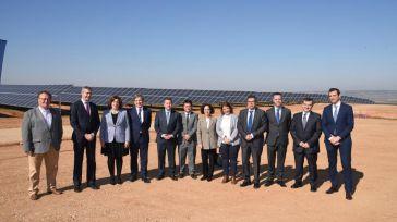 García-Page asegura que Castilla-La Mancha duplicará su producción fotovoltaica con todos los proyectos actualmente en marcha