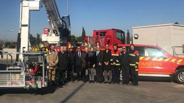 Una delegación de Argelia se interesa por las instalaciones y el funcionamiento del Consorcio de Bomberos de la Diputación de Toledo