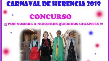Anuncian un concurso para poner nombre a los Gigantes del Carnaval de Herencia 2019