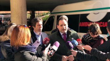 Paco Núñez se compromete a 'poner fin al contrato precario del transporte sanitario que sufren trabajadores y pacientes de Guadalalajara, Albacete y Ciudad Real'