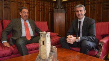 El presidente de la Diputación de Toledo reconoce la labor de Manuel Gutiérrez al frente de la Audiencia Provincial