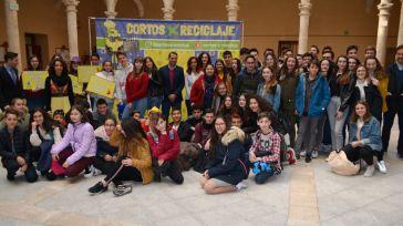 Casi 300 estudiantes asisten a la proyección de cortos sobre reciclaje en un proyecto pionero de la Diputación de Toledo