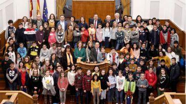 Escolares de Castilla-La Mancha reflexionan sobre la igualdad en las Cortes