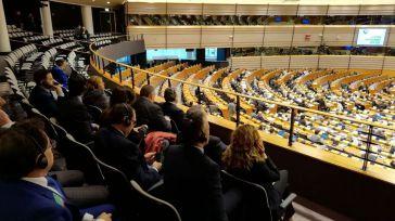 Una delegación de Fecir visita el Parlamento Europeo