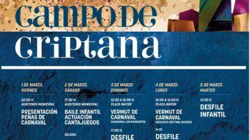 Cantajuegos para los niños y bailes del vermú en el Carnaval de Campo de Criptana