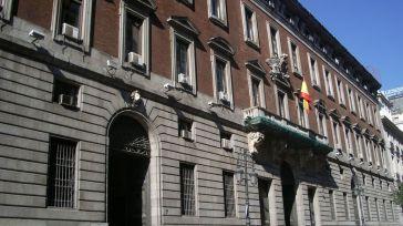Sede del MInisterio de Hacienda.