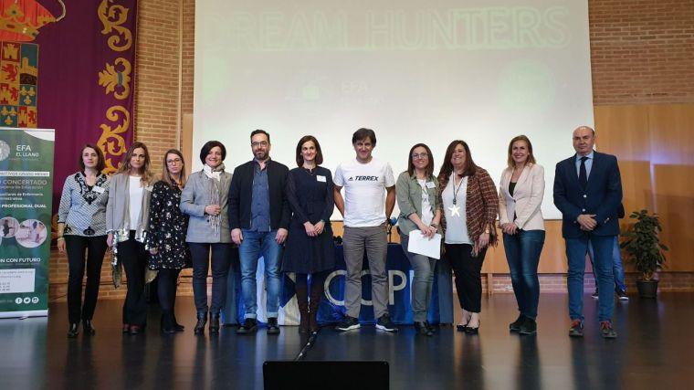 José Manuel Latre clausura la Jornada de Jóvenes Emprendedores de la EFA El Llano de Humanes