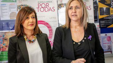 Montserrat Muro y Pilar Callado (PSOE) animan a participar en las movilizaciones del 8 de marzo