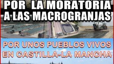 Pueblos de toda Castilla-La Mancha se manifiestan este domingo en Toledo para exigir una moratoria que paralice las licencias de explotaciones ganaderas industriales