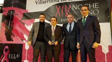 El director general de Globalcaja participa en la entrega de los XIV Premios Noche del Vino de la Cooperativa El Progreso