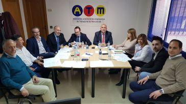 La Asociación Provincial de Empresarios de Transporte de Mercancías de Ciudad Real analiza el panorama del sector