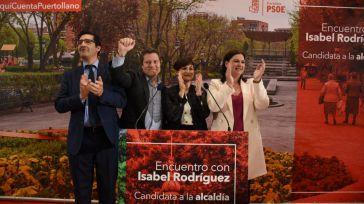 """García-Page se compromete con el """"proyecto de ciudad"""" de Isabel Rodríguez """"tomando una decisión en positivo al mes para Puertollano"""""""