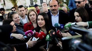 Arrimadas: 'Estamos preparados para gobernar España'