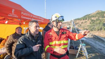 El delegado del Gobierno valora la coordinación y la rapidez de actuación en el incendio de Paterna del Madera