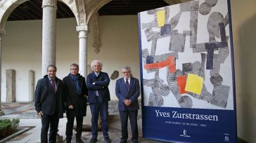 El Museo de Santa Cruz de Toledo acoge hasta el 30 de junio la muestra 'Free Energy', del artista belga Yves Zurstrassen