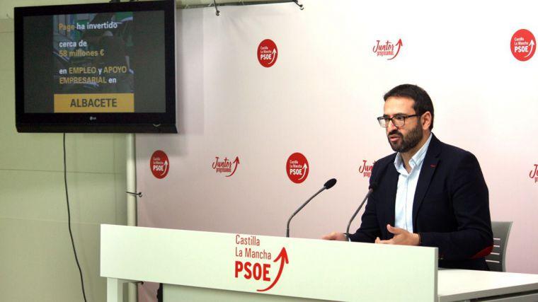 El PSOE inicia una campaña para explicar a los ciudadanos los logros de García-Page en materia de empleo