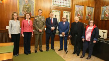 El Gobierno regional felicita a la Academia de Infantería por su nombramiento como padrino de Marsodeto 2019