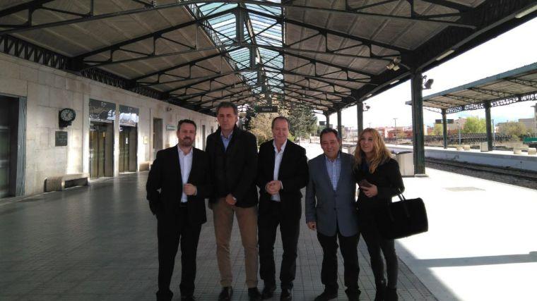 Los cabeza de lista al Congreso de los Diputados por Cuenca, Teruel y Soria aseguran que Cs es el único partido que garantiza infraestructuras dignas para todos los españoles